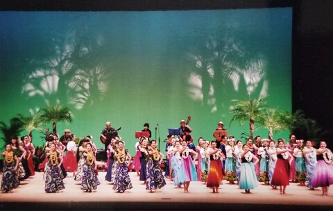 第9回ハワイアンフラ祭り(市原市文化祭)