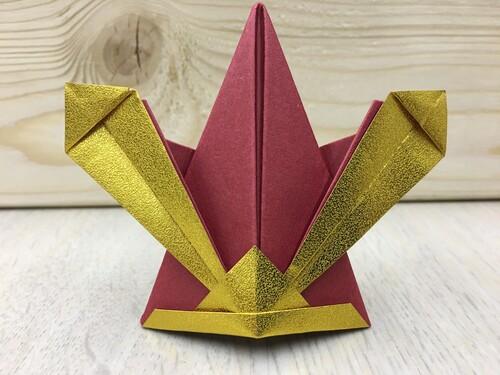 折り紙カブト.JPG