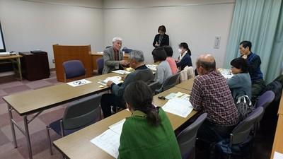 参加者と市民活動団体との意見交換